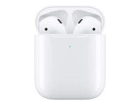 Apple AirPods with Wireless Charging Case - 2nd Generation - todelliset langattomat kuulokkeet with mic - korvanappi - Bluetooth malleihin iPhone 11 MRXJ2ZM/A
